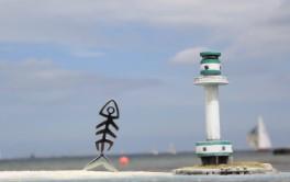 Kielfisch-Skulptur II