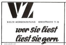 VZ - Kieler Morgenzeitung