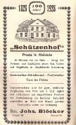 Preetz - Schützenhof 1928