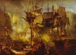 Die Schlacht bei Trafalgar