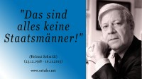 Staatsmänner - Helmut Schmidt