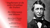 Ungehorsam - Thoreau