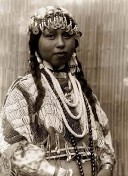 Indianer-Braut