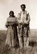 Indianer-Prairie-Ehepaar