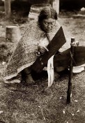 Indianerin-Zedernrinde