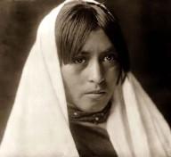 Taos-Indianerin