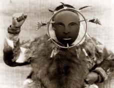 Eskimo-Zeremonial-Maske