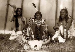 Indianer-Altar