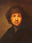 Rembrandt - Selbstbildnis680