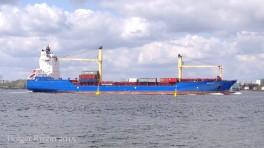 Hooge - Containerfrachter 9683