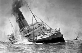 Lusitania - Untergang