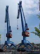 Kiel - Hafenkraene