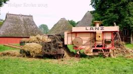Lanz Dreschmaschine - 1052