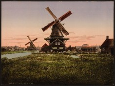 Holland - Windmühlen
