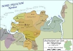 Ostfriesland um 1300