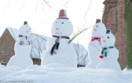 Schneemaenner 2010